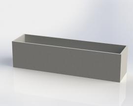 Polymeerbeton plantenbak 'Monza' L200xB40xH40 cm