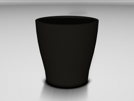 UHPC plantenbak 'Arezza' Ø60xH61 cm
