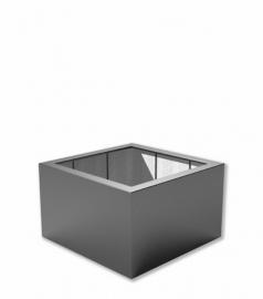 Kunststof plantenbak 'Carré' 100x100x60 cm