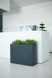 Aluminium plantenbak  'Ancona' 100xB40xH90 cm