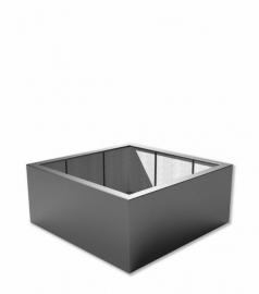 Kunststof plantenbak 'Carré' 140x140x40 cm
