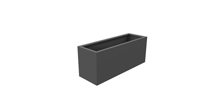 Aluminium plantenbak  'Ancona' 150xB50xH60 cm