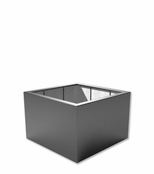 Kunststof plantenbak 'Carré' 120x120x80 cm