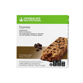 Express Proteïnereep chocolade 7 repen 7x56g