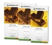 Proteïnerepen drie verschillende smaken. 14 repen in een doos