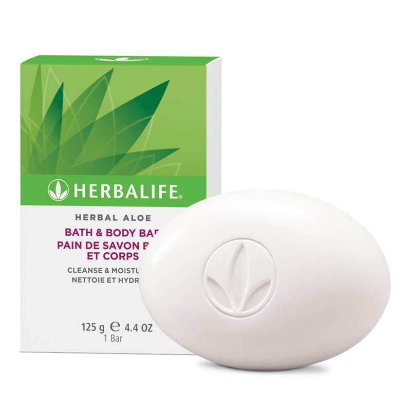 Herbal Aloë Bath & Body Bar 125 ml