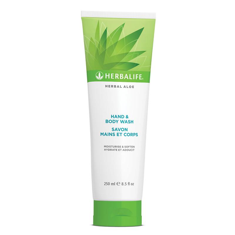 Herbal Aloë Hand en Body Wash 250 ml