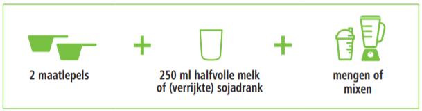 Herbalife Formule 1 voedingsshake Romige Vanille 780 gram is snel & gemakkelijk te bereiden