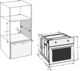 BEKO OIM 25901 X Multifunctie Oven