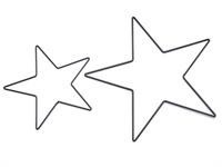 Accessoires - Kerst - Ster - zwart - 20cm