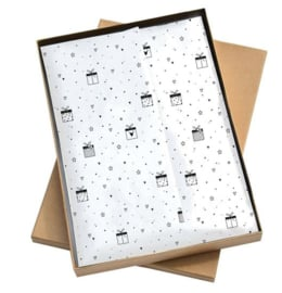 Tissue paper / Vloeipapier - Love to give - per 5 stuks