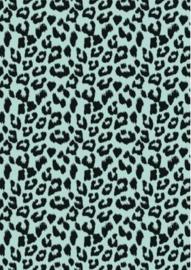 Inpakpapier - Leopard mint - 2m