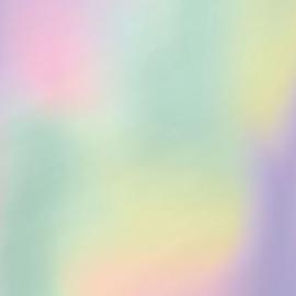 Inpakpapier - Holografisch / Regenboog - 2m