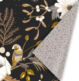 Inpakpapier - Kerst - Vintage Christmas - chique - 2m