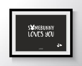 Kaart - Somebunny loves you