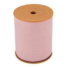 Lint - krullint vintage - licht roze 10mm - 3m