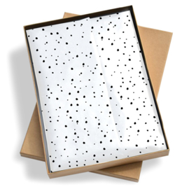 Tissue paper / Vloeipapier - Sweet confetti - 25x35cm - per 5 stuks