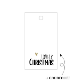 Label - A lovely Christmas