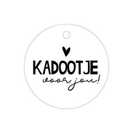 Label - Kadootje voor jou! - rond