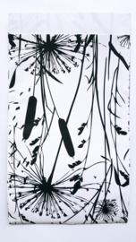 Kadozakje - Grasses - wit / zwart - per 5 stuks (12x19cm)