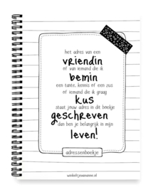 Adresboekjes / Notitieblokken / -boeken