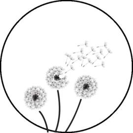 Stickers - Wish flowers - per 10 stuks