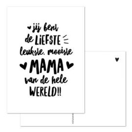 Kaart - Liefste mama