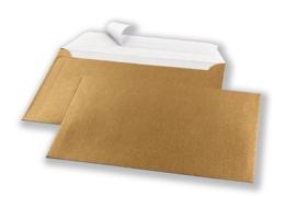 Envelop - Shiny gold