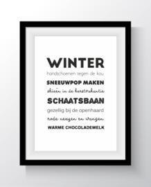 Kaart - Winter - A6