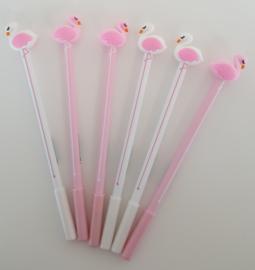 Pen - Flamingo / Zwaan - roze