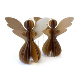 Accessoires - Kerst - Engel - goud - maat M