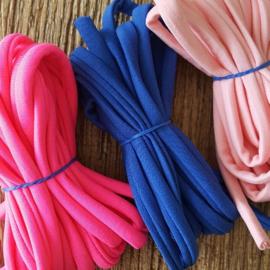 Armbandje - IBIZA - Elastisch lint kleur
