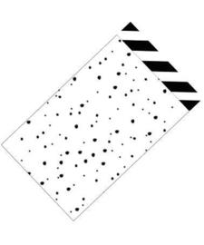 Kadozakje - It´s a confetti day - per 5 stuks (12x19cm)