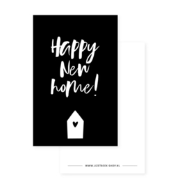 Kadokaartje - Happy new home!
