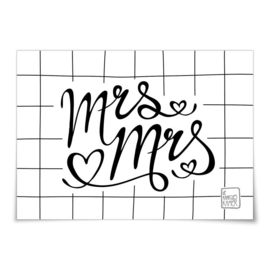 Kaart - Mrs & Mrs