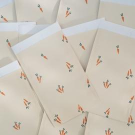 Kadozakjes - Sint - Carrots - 12x19 - per 5 stuks