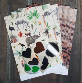 Inpakset - 14-delig - Wild