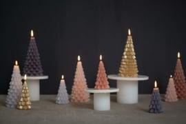 Kaars - Kerstboom - goud
