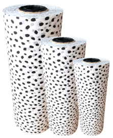 Tissue paper / Vloeipapier - 101 dots - op rol - 2m