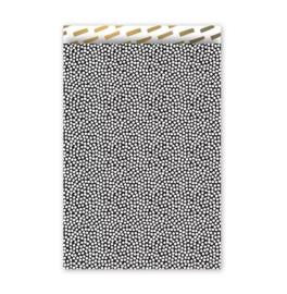 Kadozakje - Cozy Cubes - zwart - per 5 stuks (17x25cm)