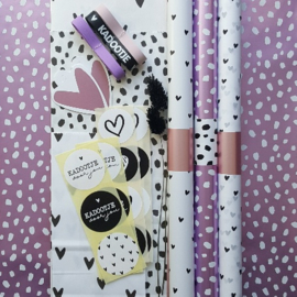Inpakset - 27-delig - 101 dots & hearts