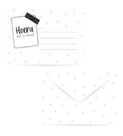 Envelop - Hoera het is feest
