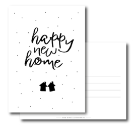 Kaart - Happy new home