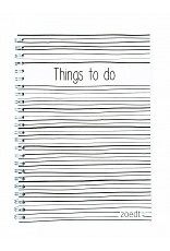 Planner - Things to do lijntjes