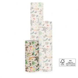 Inpakpapier - Jungle - 1m