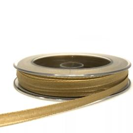 Lint - Goud 6 mm - satijnlint - per 3 meter