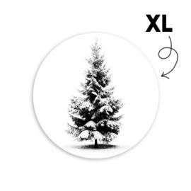 Sticker - Kerstboom XL - per 5 stuks