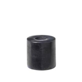 Kandelaar - mini voor potloodkaars - zwart