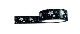 Washi / masking tape - Kerst - big stars