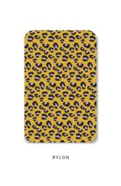 Minikaart - Panterprint geel
